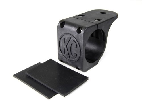 "Kc Hilites 7308 Tube Clamp Mount Bracket For 2.25"" To 2.5"" Diameter Round Light Bars And Roof Racks"
