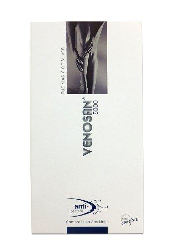 医療用弾性ストッキング ベノサン5000 つま先あり Sサイズ ブラック VENOSAN5000