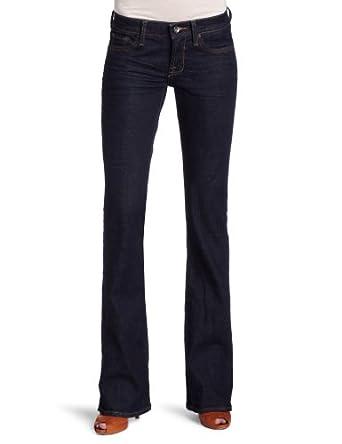 Lucky Brand Women's Wescoat Sweet-N-Low Five Pocket Jean, Ol Easton Wash, 24x32
