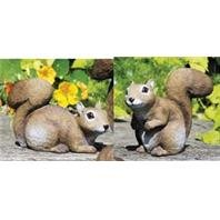 Sculptural Gardens 3617 Baby Squirrel Statuary