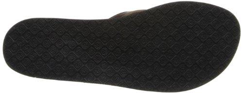 Ocean Minded Women's Makena Premium W Flip Flop,Brown,8 M US