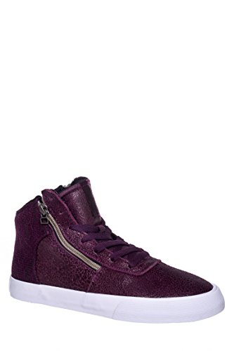Cuttler Cracked Lace Mid Top Sneaker