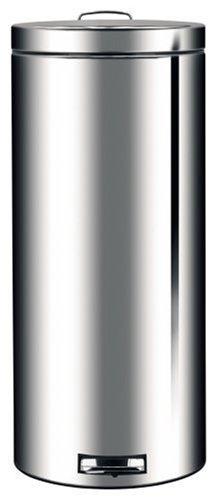 Brabantia Pedal Bin, 30 Litre, Brilliant Steel