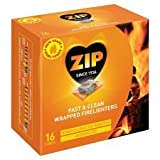 Zip Firelighters Fs & Clean pack of 16