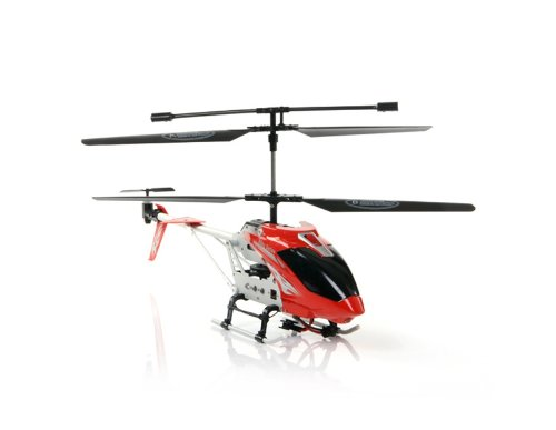 Toys Kingdom A003 3.5CH Infrared Mini RC Helicopter (Red)