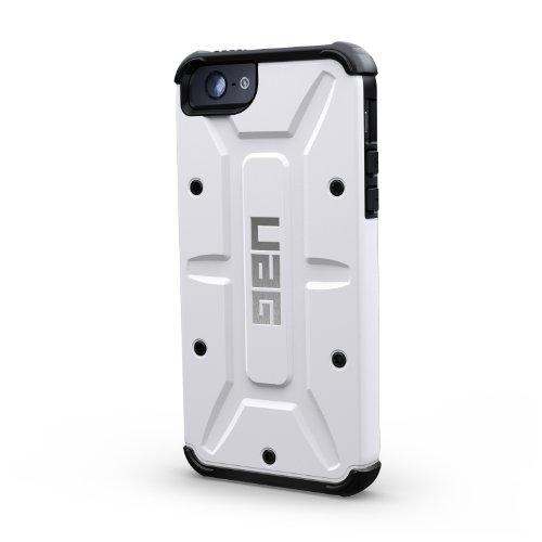 iPhone5専用 米国UAG社製耐衝撃ケース URBAN ARMOR GEAR APPLE iPhone5 COMPOSITE CASE WITH SCREEN PROTECTION アイフォン5 ケース【並行輸入】 (ホワイト/ブラック)