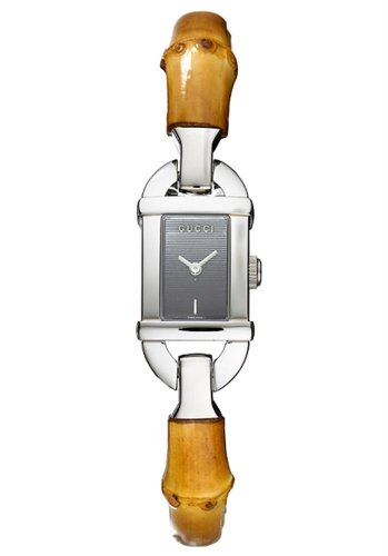 Gucci YA068518 - Reloj de pulsera mujer, color marrón