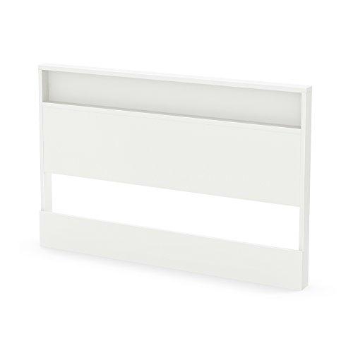 South Shore 54/60-Inch Trinity Headboard, Full/Queen, Pure White (Full Headboard White compare prices)