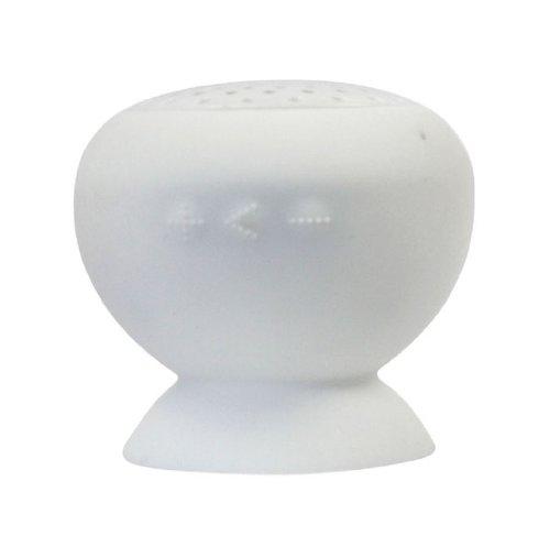Abc 1Pcs Portable Mini Mushroom Speakers ,Waterproof Bluetooth Wireless (White)