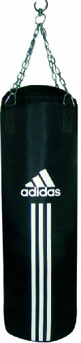 Adidas, Sacco da boxe, Nero (schwarz), 120 x 30 cm