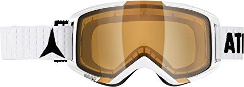 ATOMIC, Maschera da sci e snowboard Savor, Bianco (White/Orange)