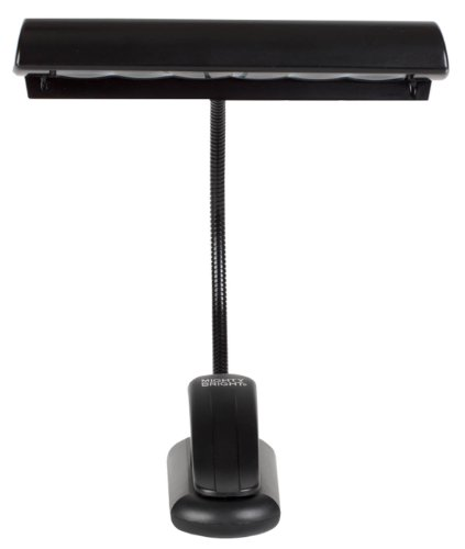 Mighty Bright 54910 Encore Music Stand Light, Black - Us Adapter