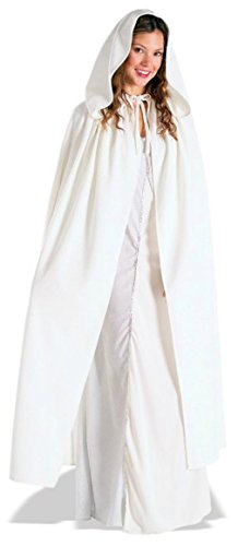Rubies Womens Arwen Cloak Lord Of The Rings Whitehooded Halloween Themed Costume