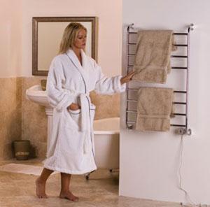 warmrails hskc kensington 39 5 inch wall mounted towel warmer chrome finish hard. Black Bedroom Furniture Sets. Home Design Ideas