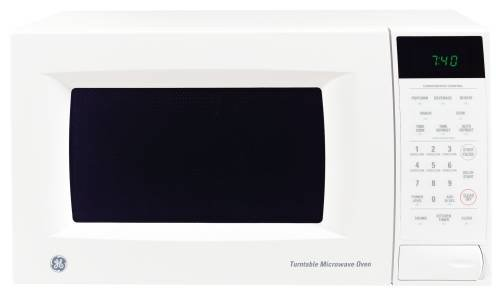 Ge Microwave Oven 0.7 Cu. Ft. Compact Countertop White (Ge Small Oven compare prices)