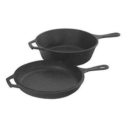 Lodge LCC3 Cast Iron Combo Cooker, Pre-Seasoned, 3.2-Quart (Dutch Combo Cooker compare prices)