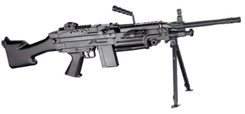 Spring Airsoft M249 MKII Full Scale SAW Machine Gun NEW