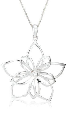 Open Double Flower Pendant