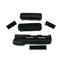 Hogue AK-47 Overmolded Forend Rubber Grip Area, Black