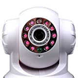 IP webcam Internet CCTV camera infrated Nightview WiFi Wireless Pan and Title