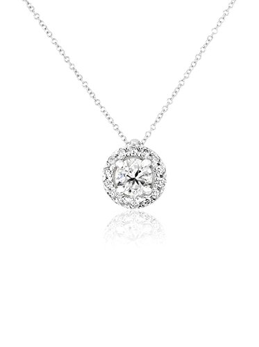 Halo Diamond Pendant