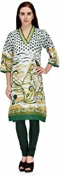 BPT Stylish Casual Wear Printed Woman's Kurti ( Size XL / 42 Chest )