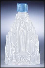 Our Lady of Lourdes Holy Water Bottle