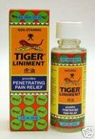 Buy Tiger Liniment 2 Fl. Oz. (57ml) (Tiger, Health & Personal Care, Products, Health Care, Pain Relievers, Rubs & Ointments)