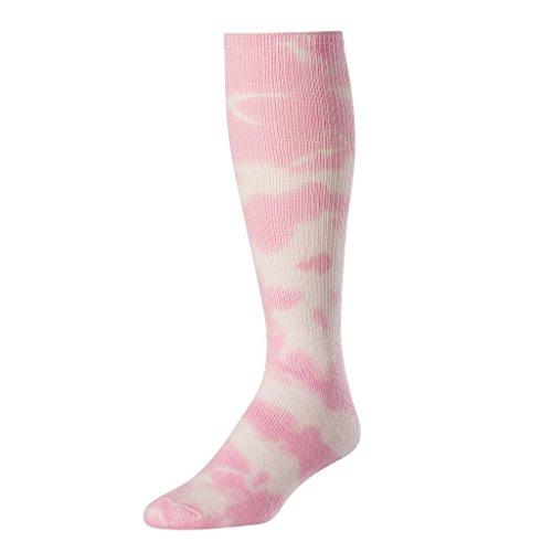 buy TCK Tie Dye Multisport Tube Socks (Pink/White, Small) for sale