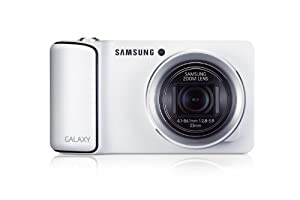Factory Unlocked Samsung Galaxy Camera EK-GC100 8GB White, Android OS, v4.1 (Jelly Bean) 3G Unlocked HSDPA 850 / 900 / 1900 / 2100