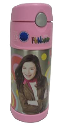 Thermos Icarly Funtainer Bottle, 12 Ounce with Pop up Straw from Thermos