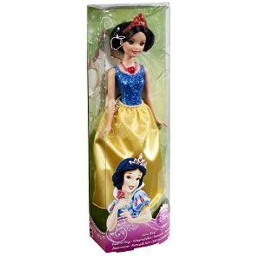 Disney (디즈니)Princess Sparkling Princess Snow White (백설 공주와 일곱 난쟁이) Doll 돌 인형 피규어(병행수입)-