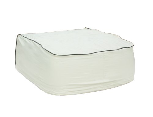 Camco 45392 Vinyl Air Conditioner Cover. Fits Dometic Brisk Air Models (White)
