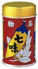 八幡屋礒五郎の七味唐辛子セット(1缶+2袋セット)