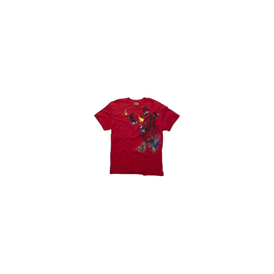 Fox Racing Sillyfuse T Shirt   Large/Red