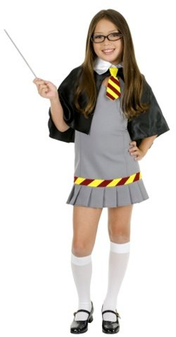 Child Wizard School Girl Costume