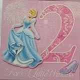 Age 2 Disney Princess Birthday Card