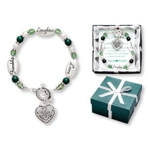 Love Laughter Friendship CELTIC KNOT Irish Pride Expressively Yours Bracelet