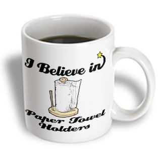 Mug_105419_1 Dooni Designs I Believe In Designs - I Believe In Paper Towel Holders - Mugs - 11Oz Mug