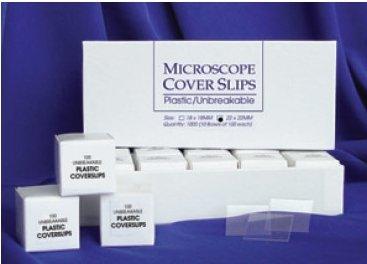 Rinzl 2085Us/10 1000 Plastic Cover Slips, 22 X 22 Mm