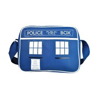 Retro Style Doctor Who TARDIS Police Box Bag. A must have gift for all Whovians!