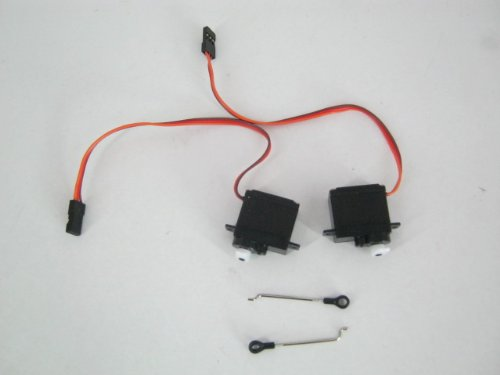 Crash Kit 3 for H-825g 4 Channel Helicopter - The Set Includes Servos Server and Steering Rods