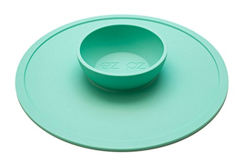 ezpz Snack Mat, Mint, One Size - 1