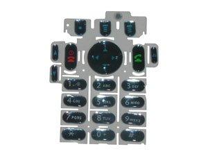 Tastatur keypad für Motorola MT720 T722, T720 Blau, blue