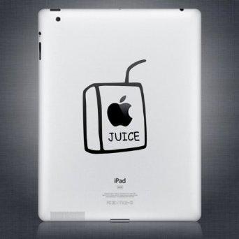 iPad iPad 2 New iPad decal sticker Aufkleber Juice box for Apple Tablet