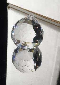 30mm Swarovski Strass Logo Crystal Ball Prisms Suncatcher #8558-30