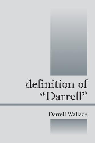 Definition of Darrell PDF