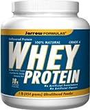 Jarrow Formulas Whey Protein, Unflavored, 1 Pound