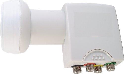 Triax CS 400 QT Universal Quatro LNB avec 4 sorties pour multiswitch