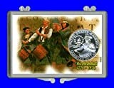 """3″ x 2″ Snaplock Coin Holder for """"1976 Bicentennial Commemorative Quarter"""" (With Proof Coin)"""